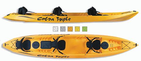 Triple Kayak From Cobra